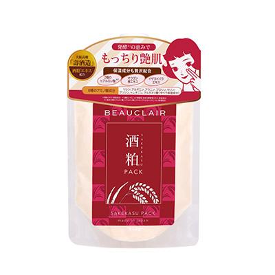 日本BEAUCLAIR 雪美清酒粕涂抹式面膜(170g)送面膜刷
