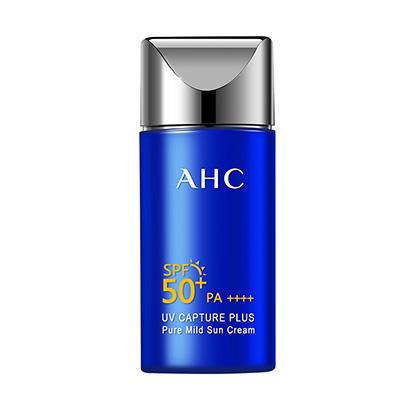 韩国AHC 小蓝瓶温和防晒霜SPF50+(50ml)随机发