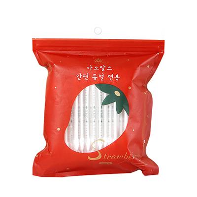 满500赠品-韩国AMORTALS 尔木萄独立包装双头棉签(100只)