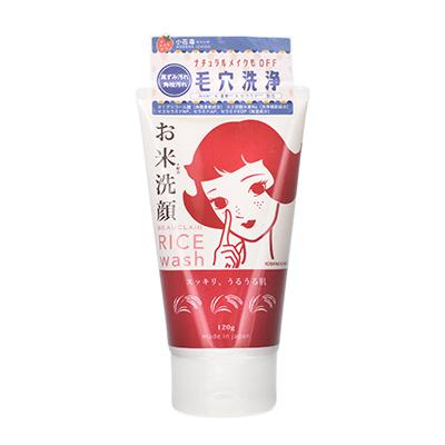 日本BEAUCLAIR 雪美清大米洗面奶(120g)送起泡网