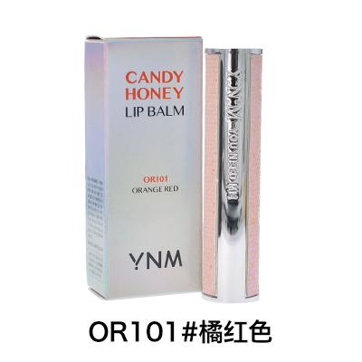 韩国YNM 甜蜜滋养润唇膏(3g)OR101#橘红色