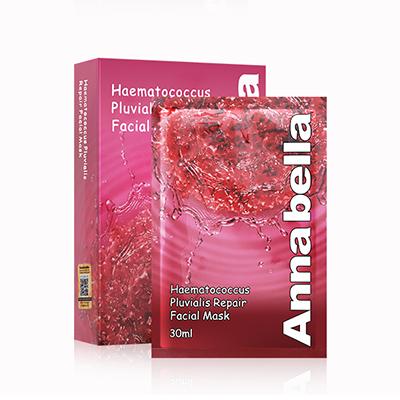 泰国Annabella 安娜贝拉红球藻逆龄修护面膜(10片)