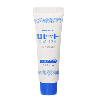 日本Rosette 露姬婷硫磺洗面奶(25g)蓝色保湿款