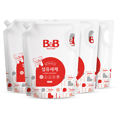 (直发不包邮)保宁BB洗衣液袋装1500ml(1箱8袋)