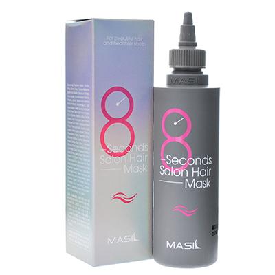 韩国MASIL 玛丝兰8秒沙龙液体发膜(200ml)紫色柔顺丝滑