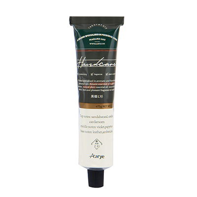 Aarye 安野屋精油香氛铝管护手霜(75g)黑檀木与雪松