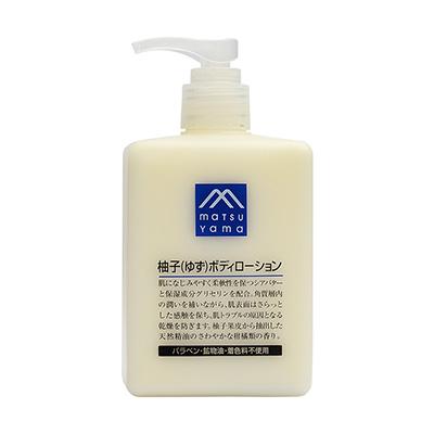日本松山油脂 精油保湿身体乳(300ml)柚子味
