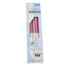 日本KAI 贝印不锈钢专业修眉刀(5支)修眉神器-粉色 随机发
