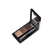 日本Kate 3D三色造型立体眉粉/鼻影修容粉(2.2g)带刷子 EX-5#自然棕