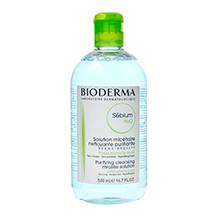 Bioderma 贝德玛四合一舒妍卸妆洁肤液/卸妆水(500ml)蓝色-随机发