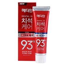 韩国爱茉莉 MEDIAN麦迪安93%牙膏(120g)红色-去牙垢清口气