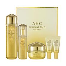韩国AHC 黄金玻尿酸水精华霜礼盒(买3送2)新包装