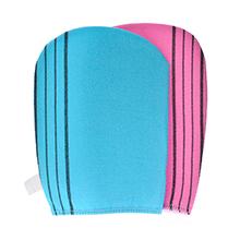 韩国老奶奶 磨砂搓澡巾(1个)颜色随机
