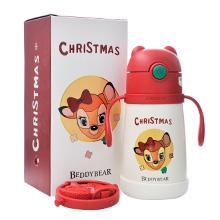 韩国杯具熊 圣诞系列保温学饮杯(320ml)幸运鹿-配礼袋