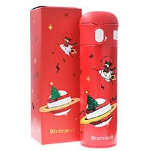 韩国杯具熊 圣诞系列成人杯保温杯(480ml)星球鹿-配礼袋